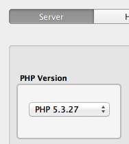 PHP version